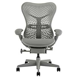 An image of Herman Miller Mirra Designer Office Chair goes here.